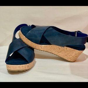 Pierre Dumas navy shoes
